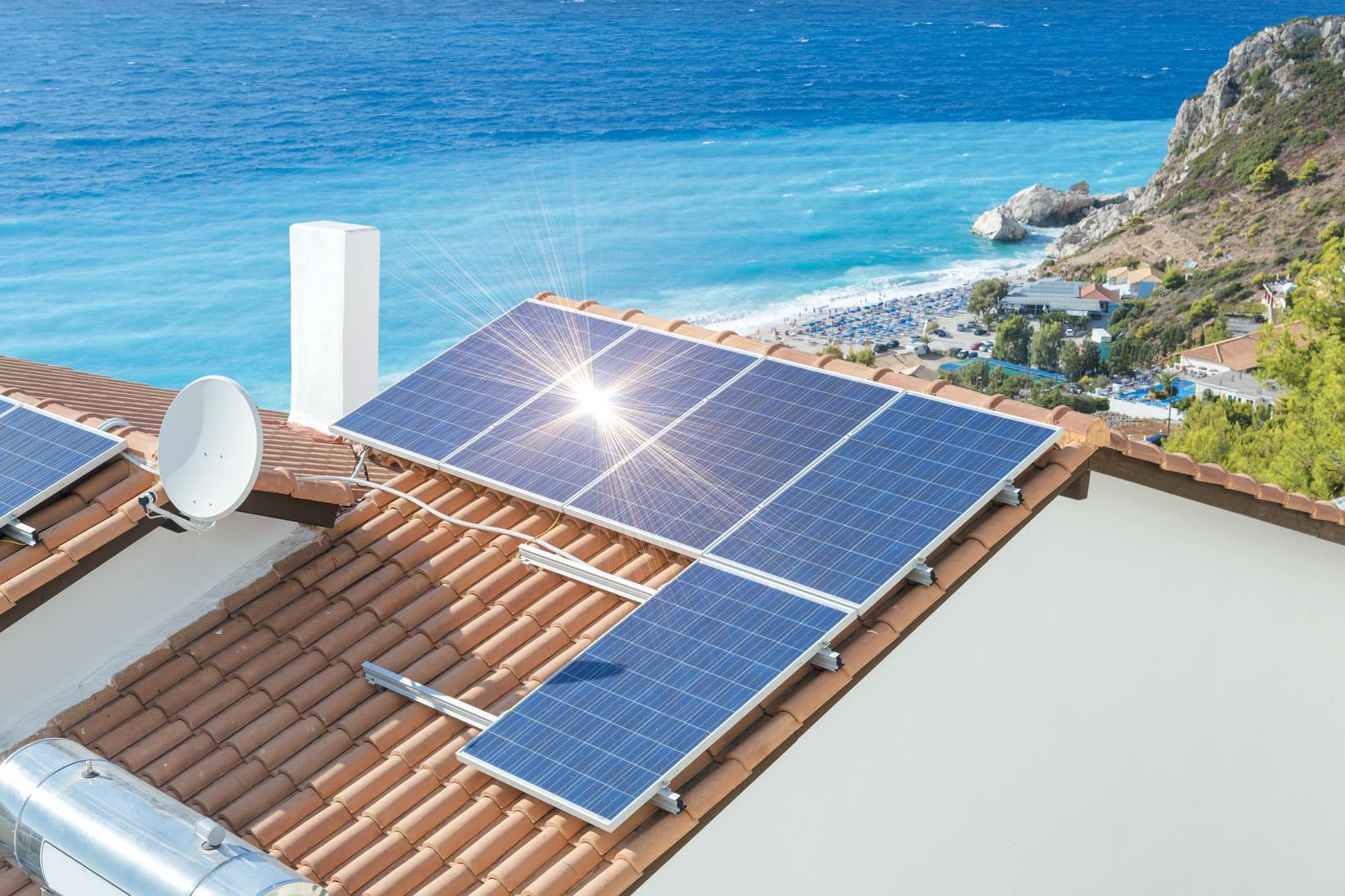 impianto fotovoltaico a isola