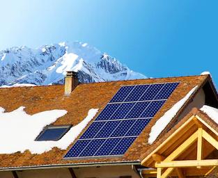 kit solare baita