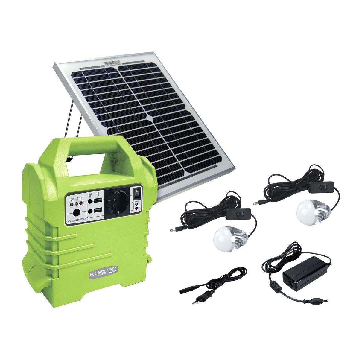kit solare portatile